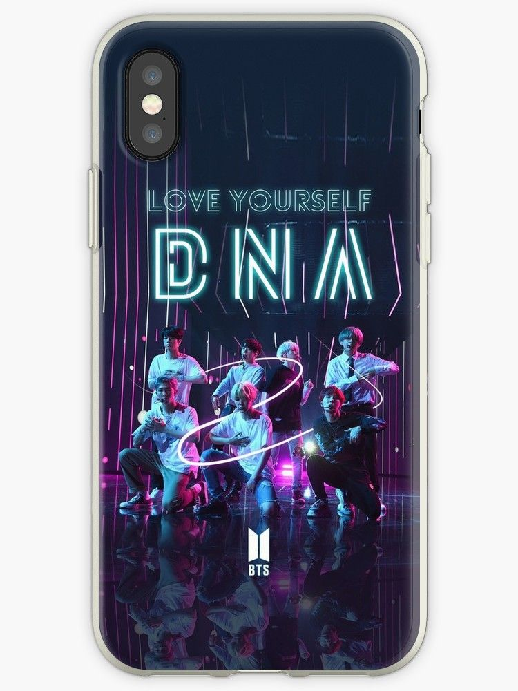 BTS love yourself DNA iphone case