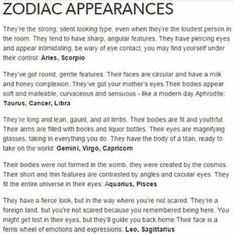 Wow  It is mind blowing how accurate my zodiac description