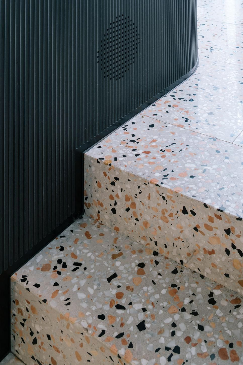 Stepping Back In Time Terrazzo Flooring Hallway Bathroom Renovations Renos Read It