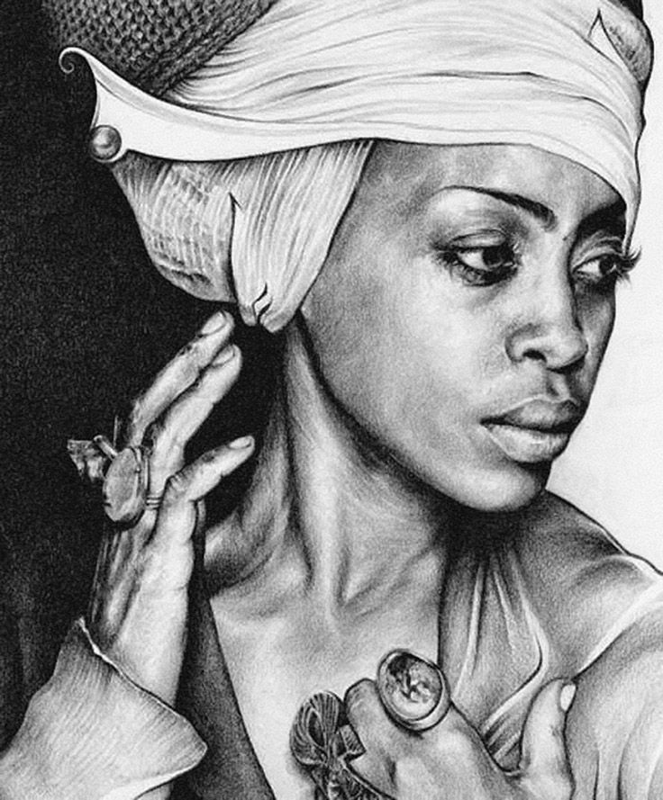 1989 african american black woman portrait drawing tsabe co uk