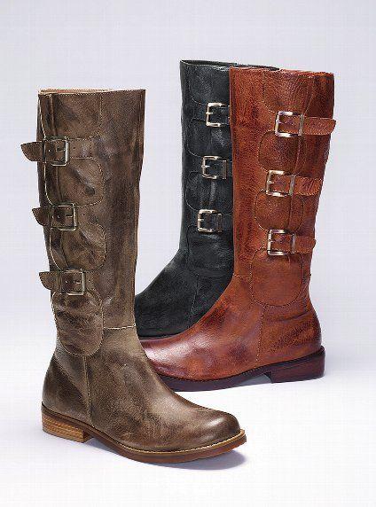 Jade Three-buckle Suede Boot