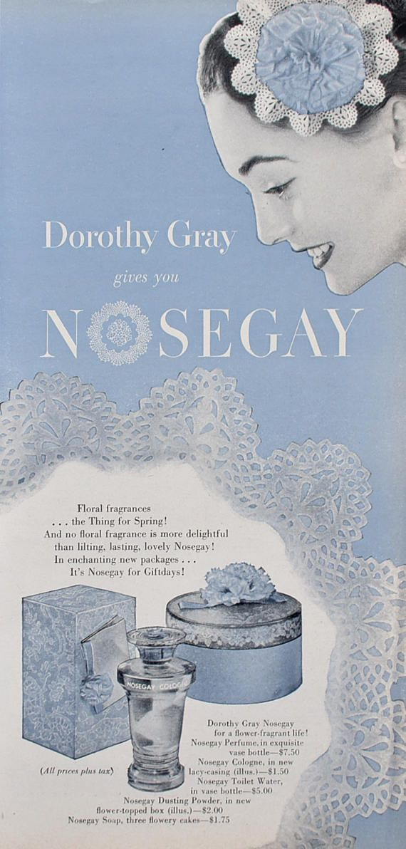 1937 Perfume Bottle for Dorothy Gray