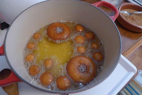 Mallory's Kitchen | Pumpkin Spice Cider Doughnuts