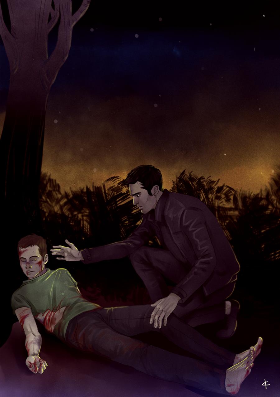 Teen Wolf FanArt: The night time by NinaKask.deviantart.com on @deviantART