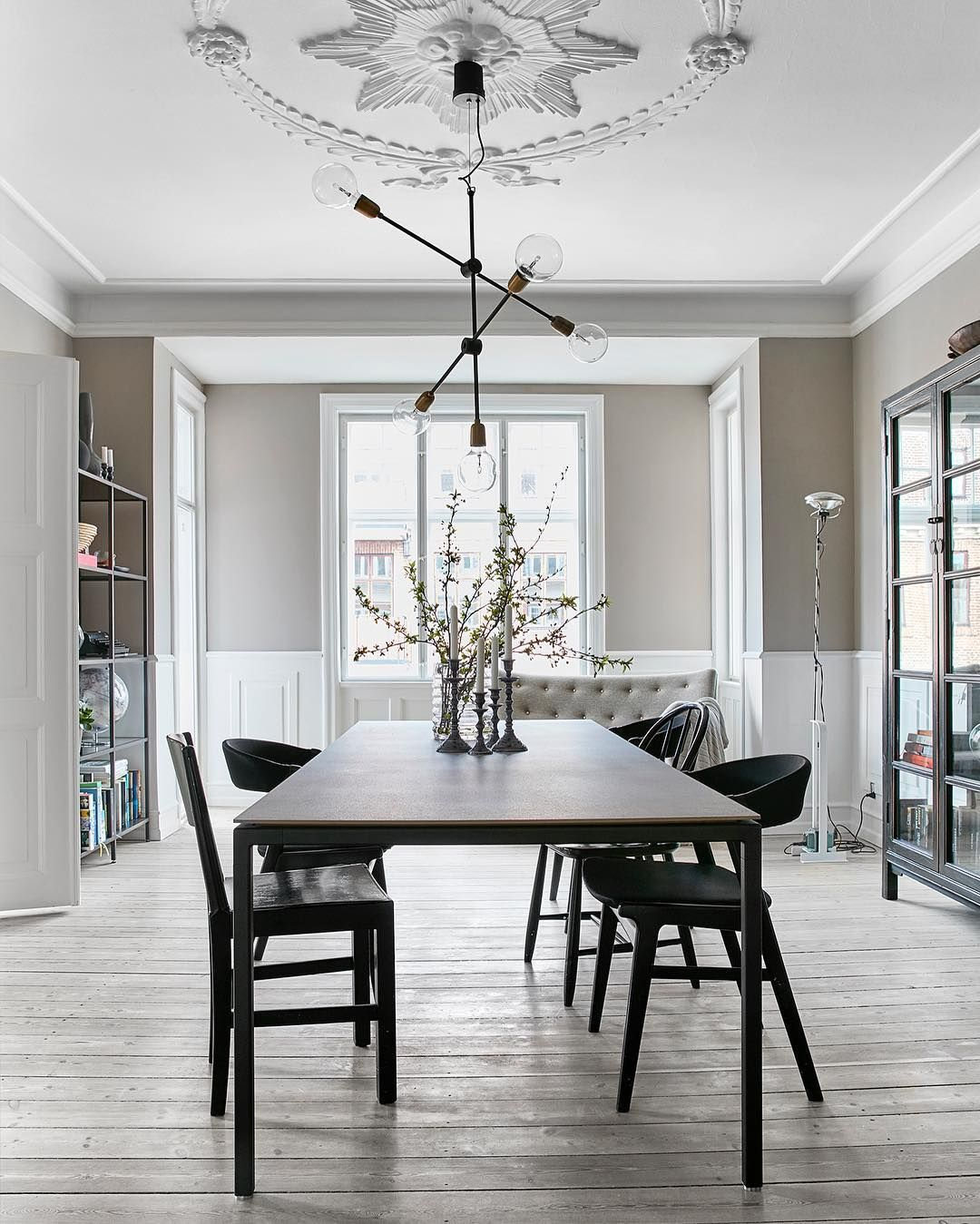 Pinsabon Home On  Mix & Chic Home   Pinterest  Room Captivating Dining Room Cupboard Decorating Design