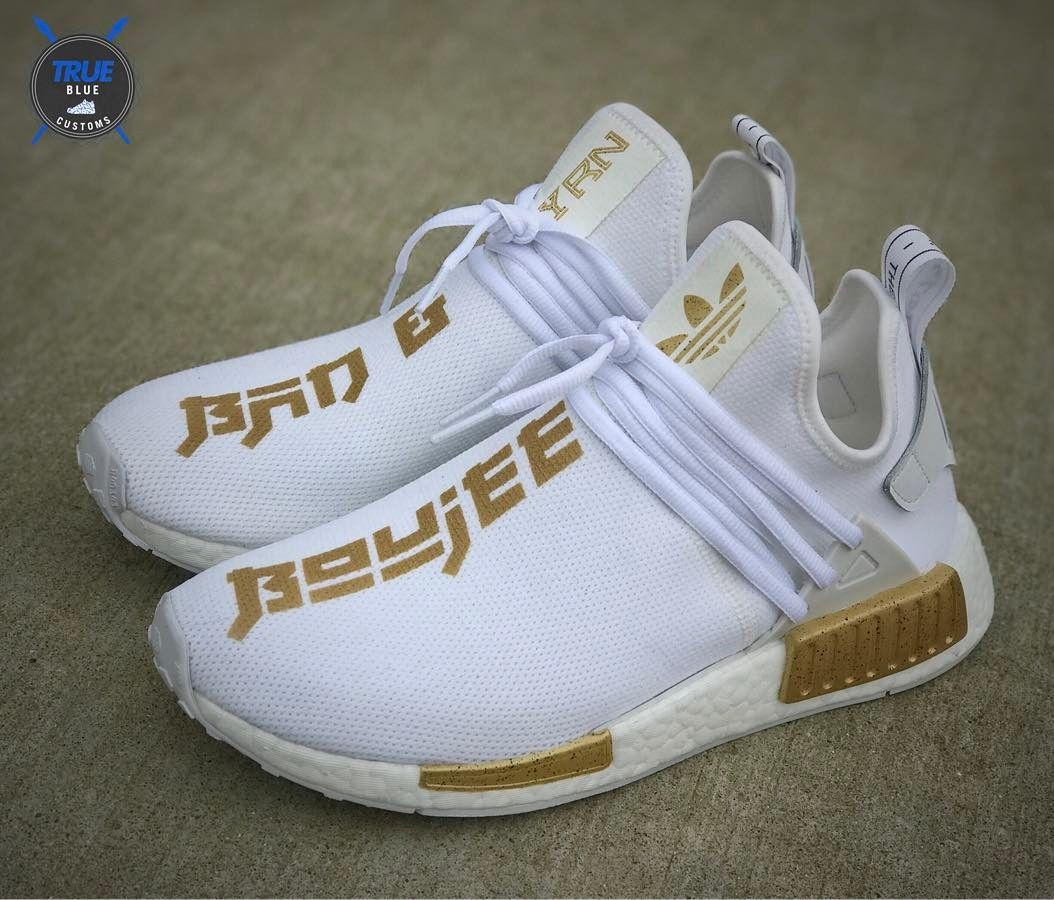 d7af87d35034 Uncaged x Bad   Boujee Custom adidas NMD XR1