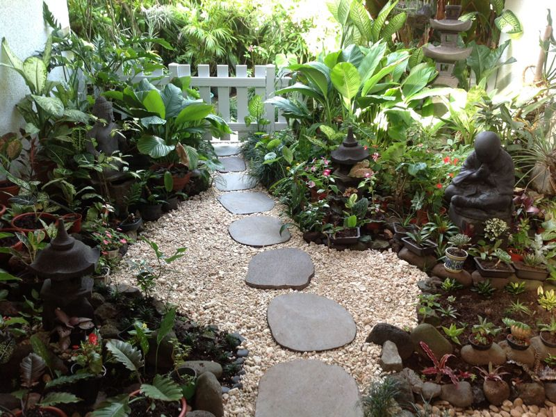 Vos plus beaux jardins japonais pas japonais japonais for Gravier pour jardin japonais