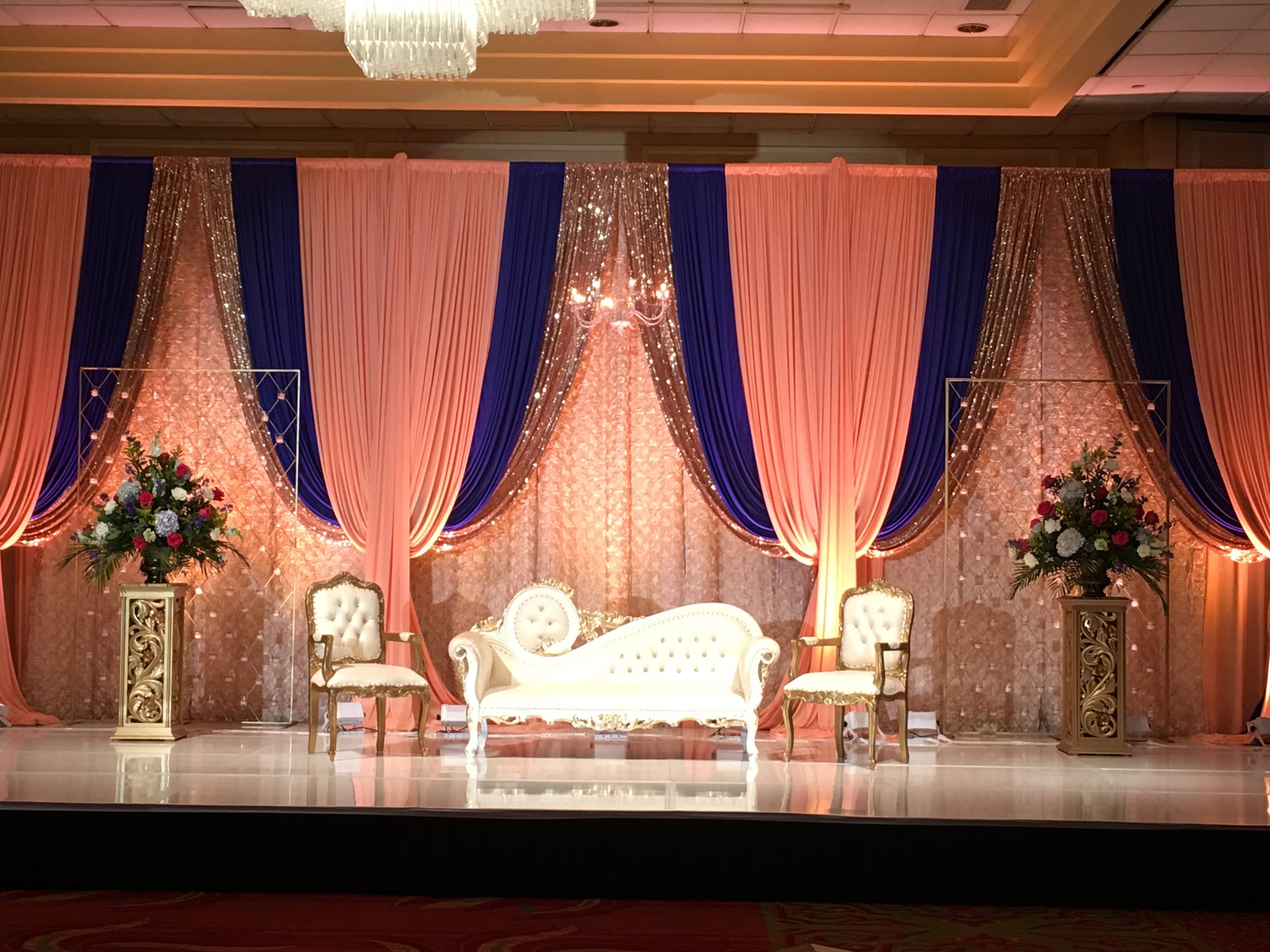 Pin By Wedding Decor By Faiza On Wedding Stages Wedding Stage