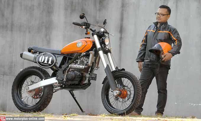 Modifikasi Scrambler Ubah Total Kawasaki Klx 150 Motorcycle