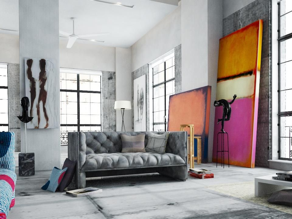 Rothko Replicas In Your Living Room Loft Interiors