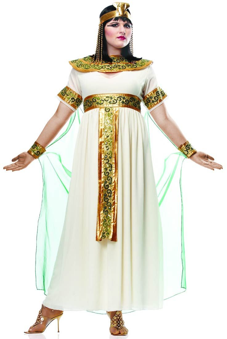 Plus Size Cleopatra Costume - Egyptian Costumes  sc 1 st  Pinterest & Plus Size Cleopatra Costume - Egyptian Costumes   Historic Fashions ...