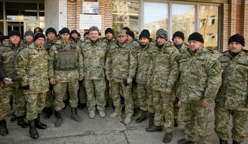 Подякував нашим солдатам за подвиг, який вони здійснюють щодня.