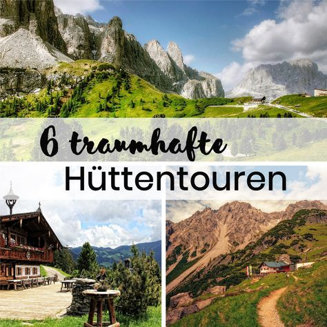 Photo of 6 wonderful hut hikes in the Alps