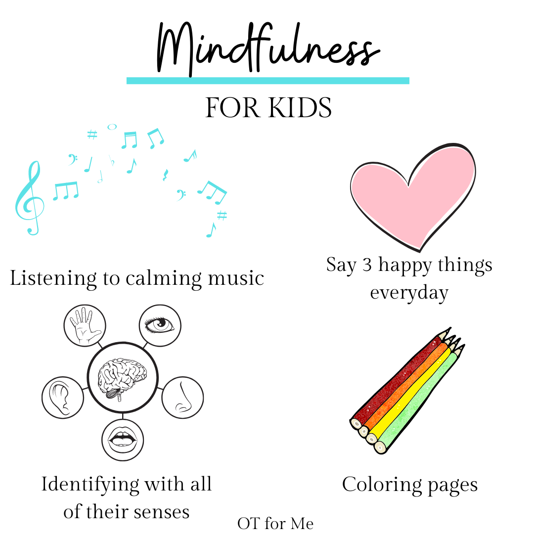 Mindfulness For Kids Mindfulness For Kids Calming Strategies Calming Music