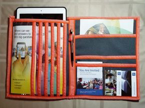 tablet service organizer by pearlandjean on etsy jw serviceorganizer ministryorganizer fieldservice - Field Service Organizer