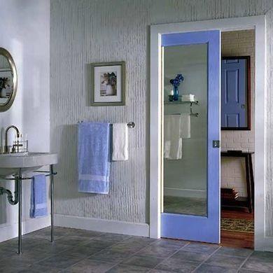 Tight Quarters 10 Smart Space Saving Door Solutions Glass Pocket Doors Space Saving Doors Pocket Doors Bathroom