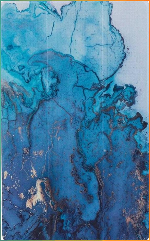 Saharacase Custom Design Smart Folio Case For Amazon Kindle Fire Hd 10 2017 2019 Blue Marb Blue Wallpaper Iphone Light Blue Aesthetic Baby Blue Aesthetic