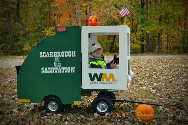 Garbage Man Costume Trucks Birthday Party Toddler Halloween