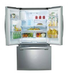 Samsung Rf263beaesr 26 Cu Ft French Door Refrigerator With 10