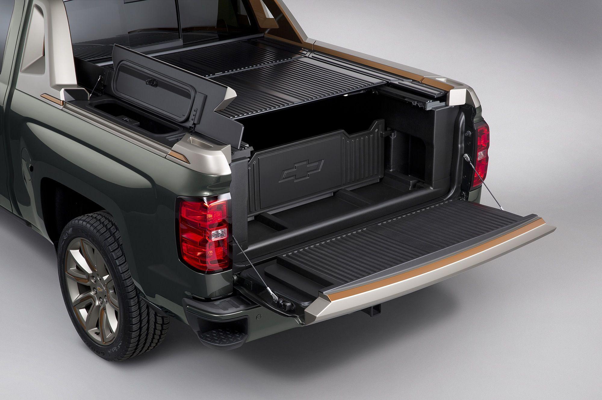 Chevy Silverado High Desert Concept Sema 2014 Gm Authority