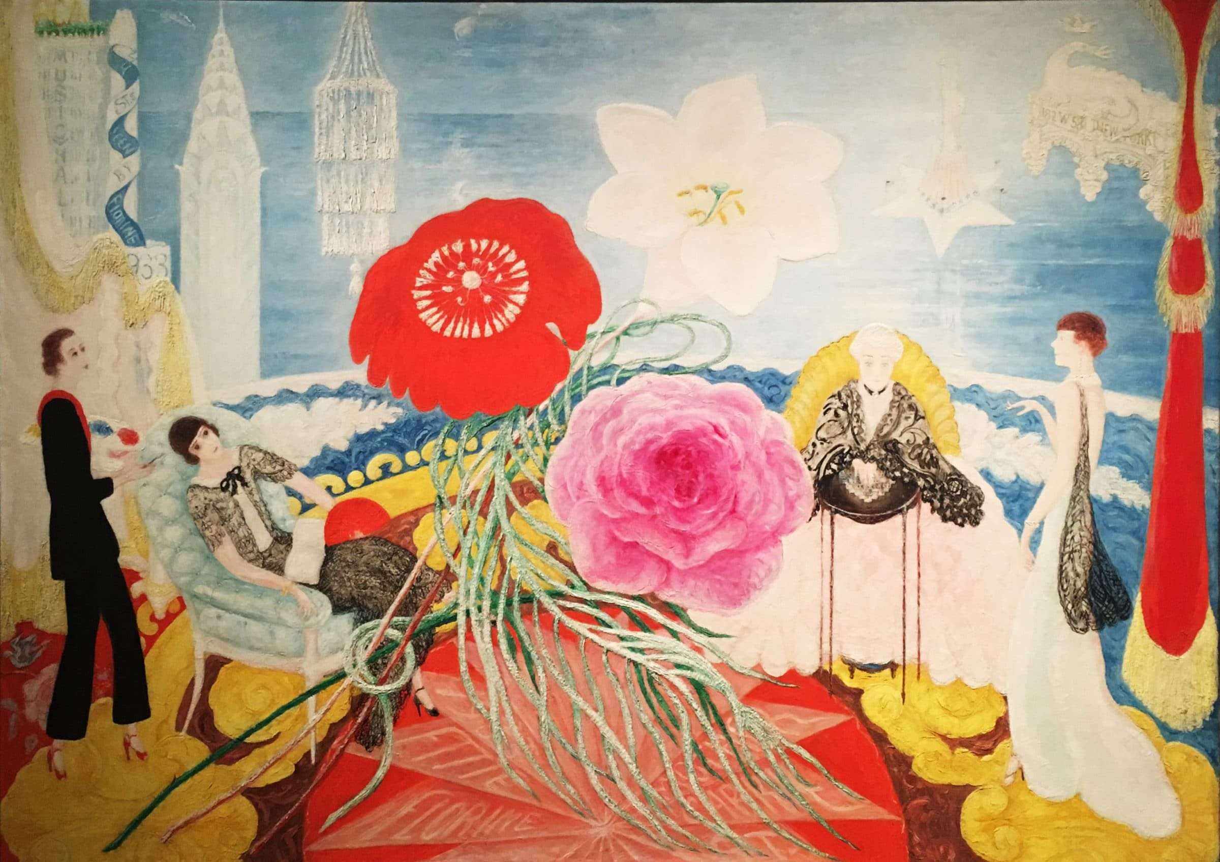 Spring Sale at Bendel/'s  by Florine Stettheimer   Giclee Canvas Print Repro