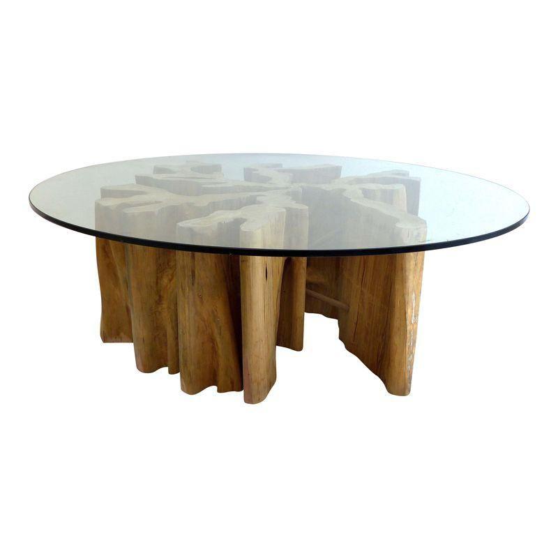 Brazilian Amazon Guaranta Wood Table Base Wood Table Bases Wood Table Table