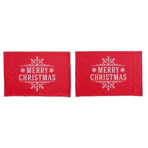 Pillowcase Set-Christmas Snowflakes   christmas lanterns, christmas three decoration, swedish christmas decorations #christmascards #christmasdecoration #christmasornaments