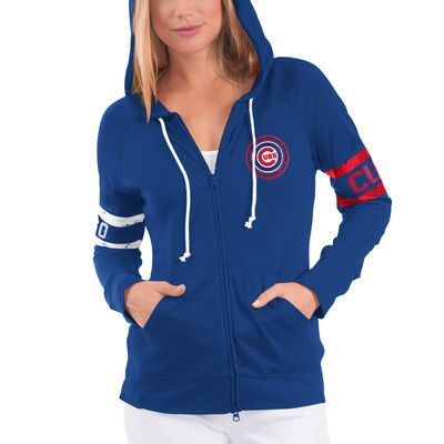 Women s Chicago Cubs Touch by Alyssa Milano Royal Postseason Hoodie ... 90b1684e6