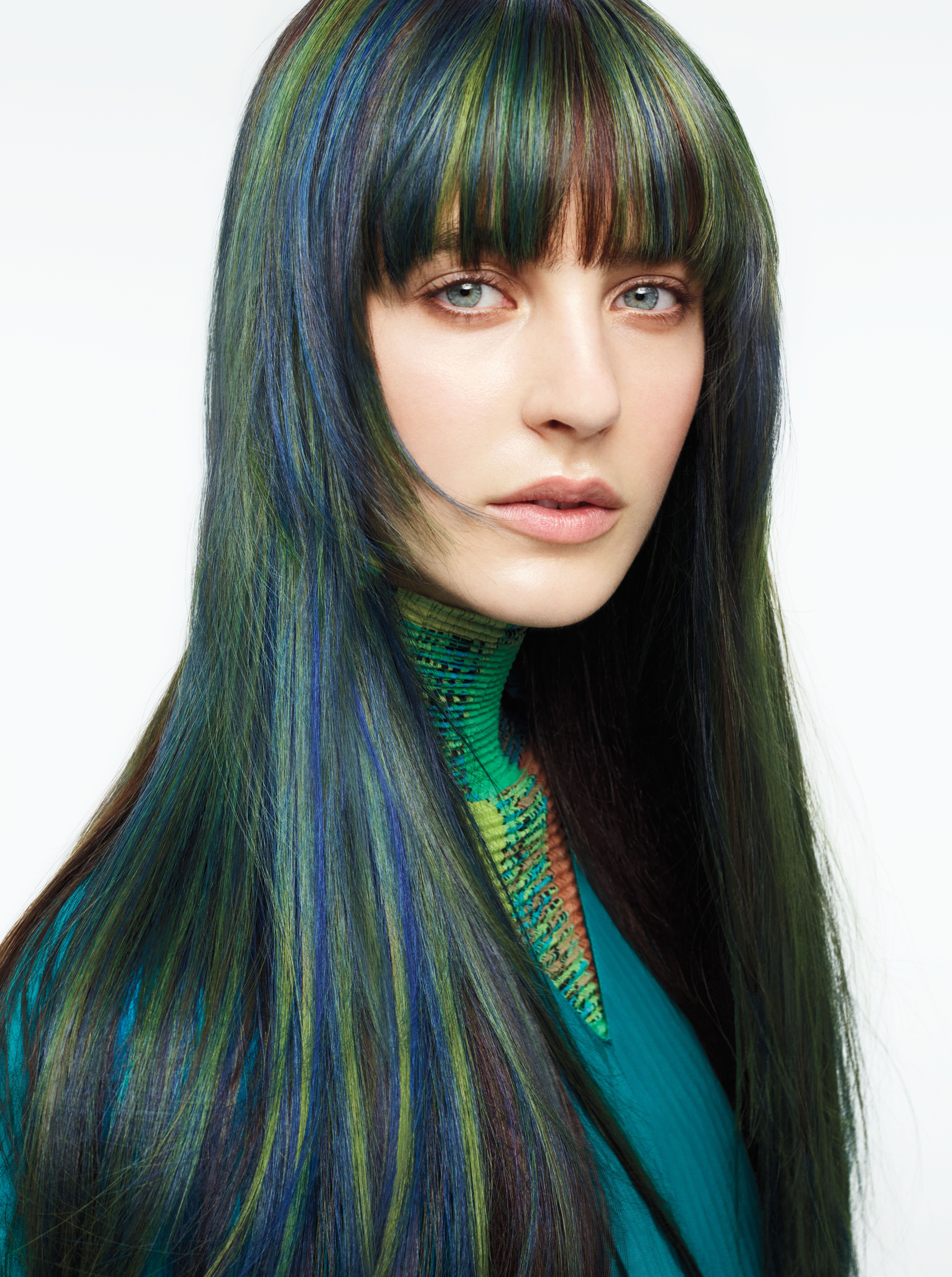 Book Your Aveda Birdsofparadise Makeup Consultation With Stacey And Thehairloungegolden Team Peacock Hair Color Hair Color Pink Ash Hair Color