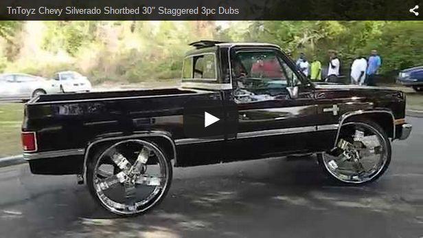 30 Inch Rims On Chevy : Inch rims on impala silverado shortbed