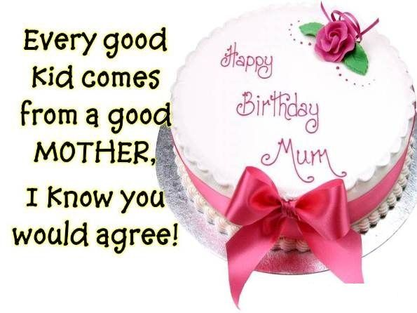 Birthday wishes for mom Birthday Cards Pinterest – Birthday Greetings to Mother