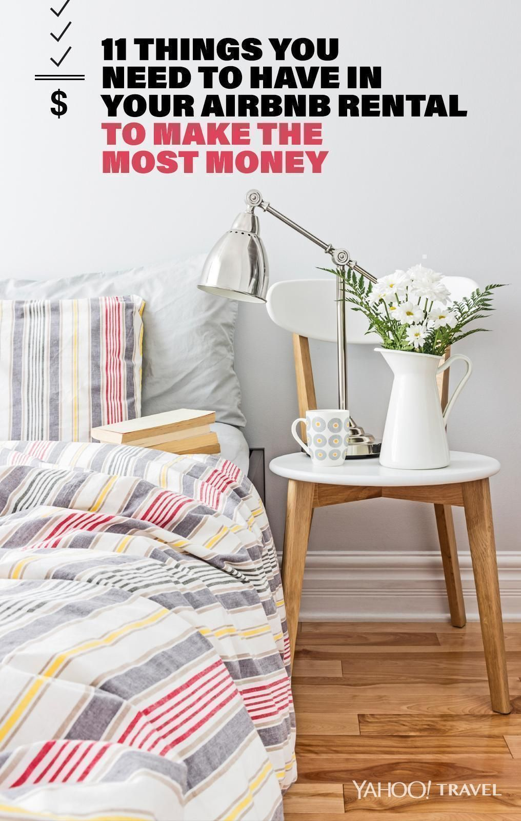 things you need in your airbnb rental to make more money short