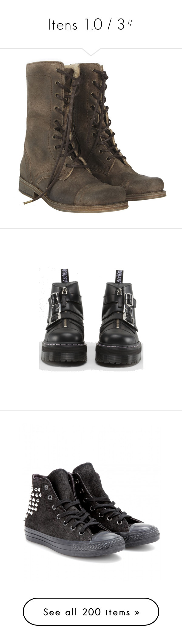 Itens 1 0 3 By Letycalazans On Polyvore Featuring Shoes Boots
