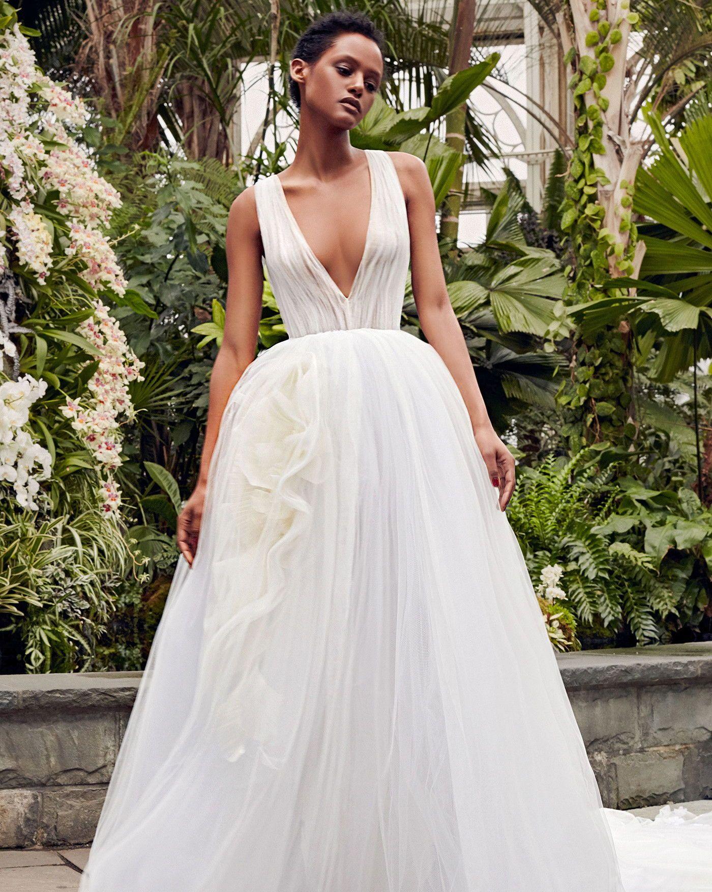 vera wang spring 2020 wedding dress collection | vera wang