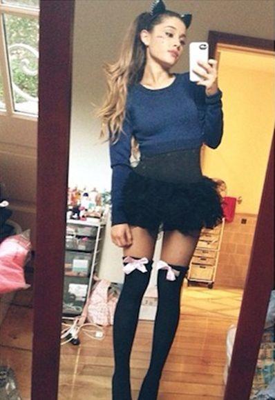 Ariana Grande Halloween Costume 2019.Ariana Grande Halloween Halloween Costume 2014 In 2019 Ariana