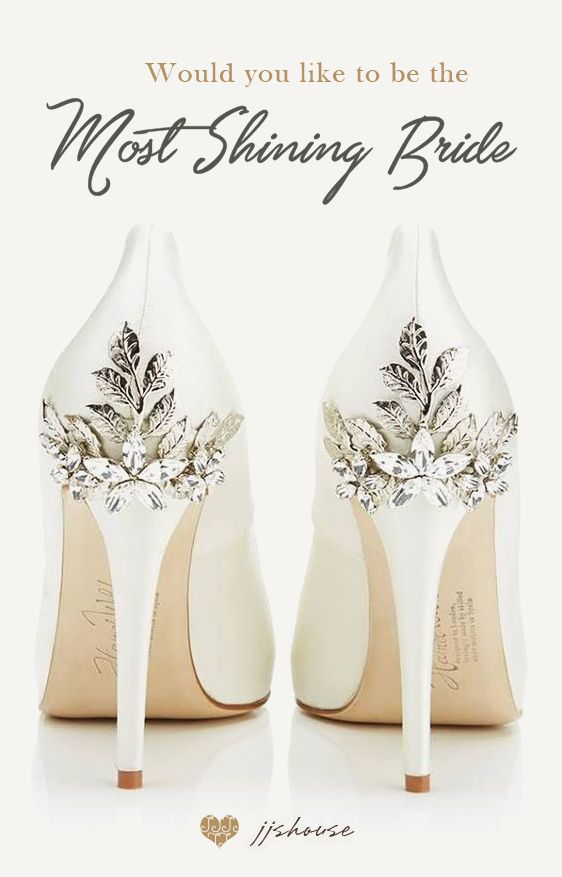 35e838ff9980e Be the Most Shining Bride on Your Wedding Day!  weddingshoes by JJsHouse