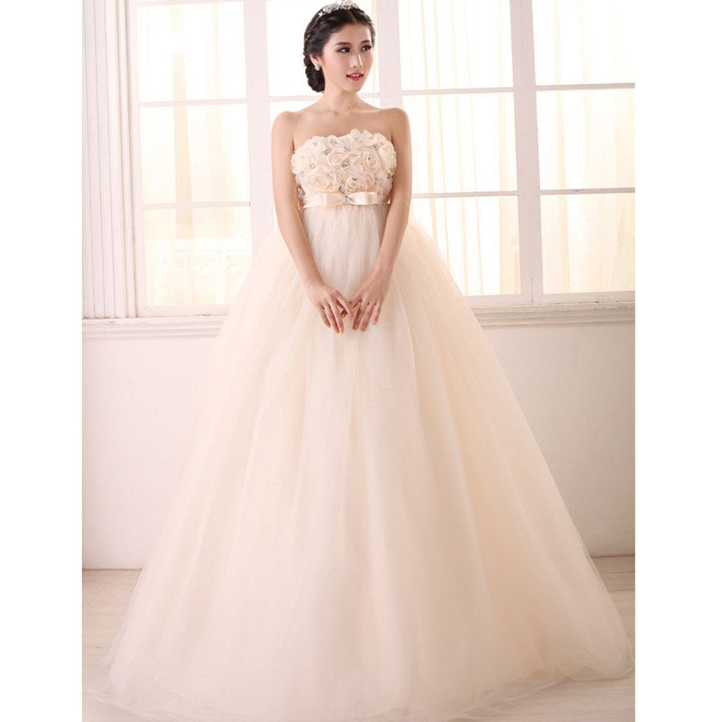 Vintage Wedding 2016 New Fashionable Vestido Noiva Dress Bride Woman High Quality Top