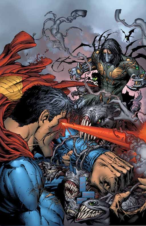 ArtVerso — Marc Silvestri - Superman vs Darkness