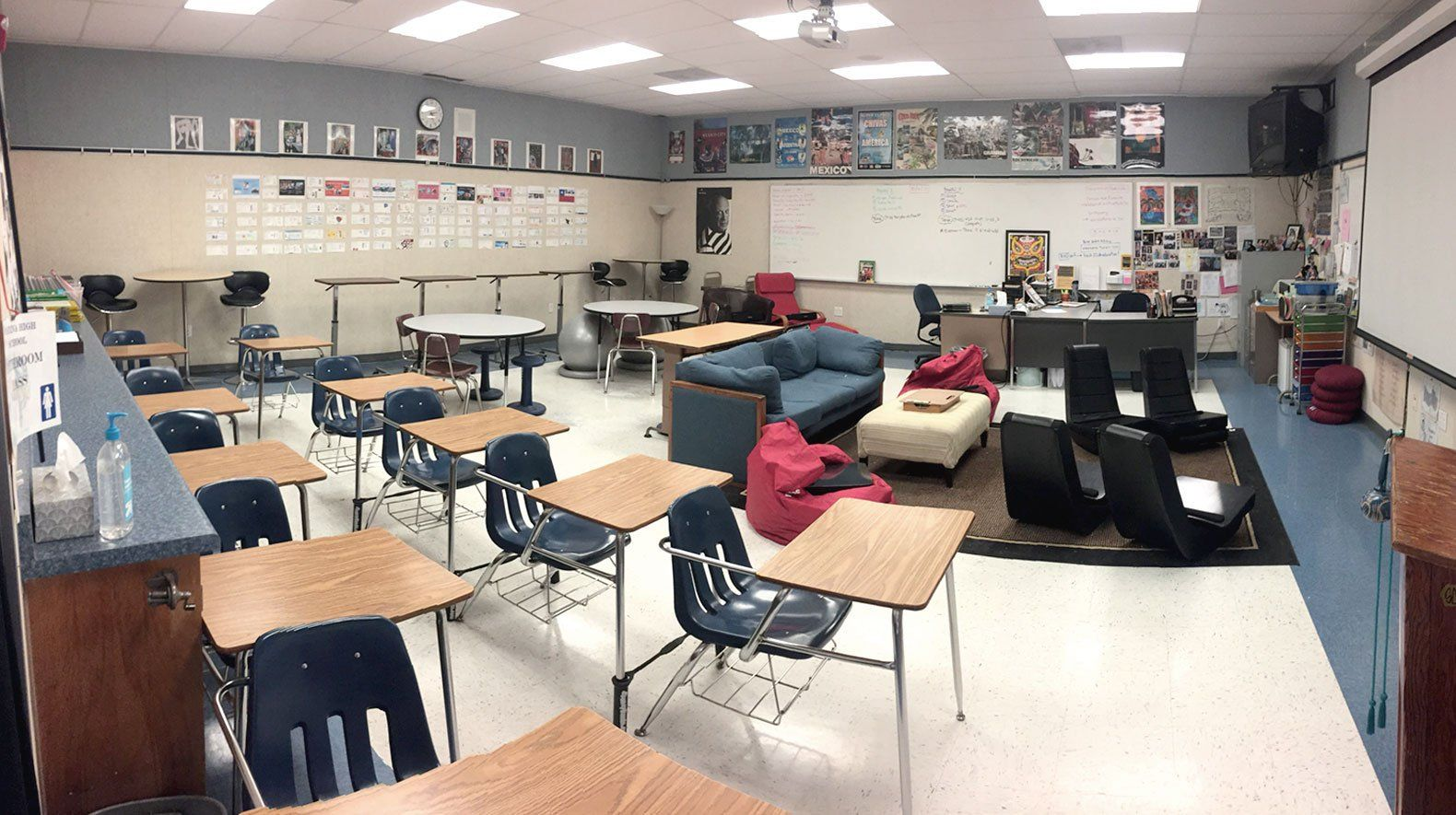 High School Flexible Seating Done Right | Molding Minds ...