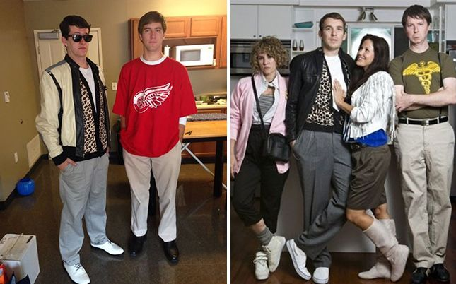 24 halloween costumes inspired by fave school movies and shows - 80s Movies Halloween Costumes Ideas