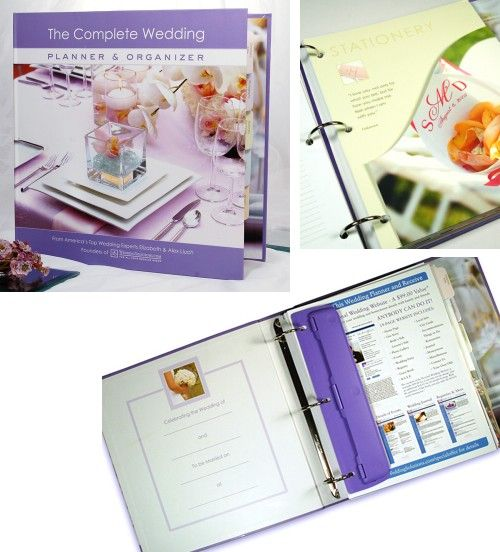 Cathys Concepts 9996 The Complete Wedding Planner Amp Organizer
