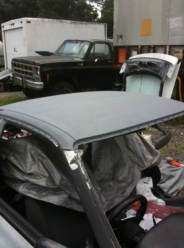S13 Hatch Roof Skin Swap With A Few Pics Nissan Infiniti Roof Track Car