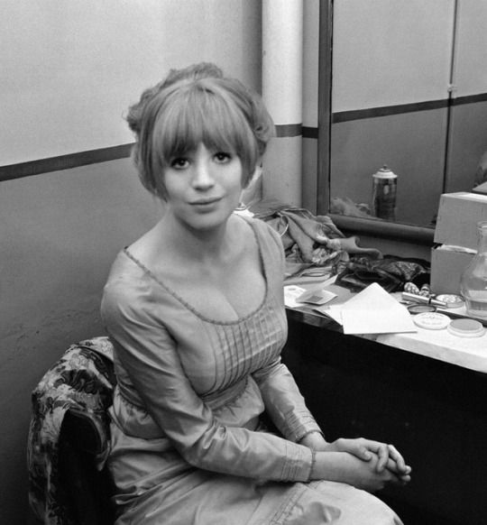 Marianne faithfull at the british song contest festival at brighton marianne faithfull at the british song contest festival at brighton may 27 1965 altavistaventures Choice Image