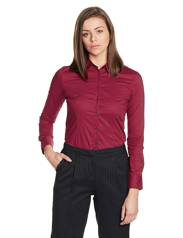 Van Heusen Women S Button Down Shirt Amazon In Clothing