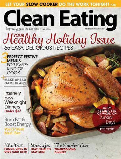 Photo of Clean Eating Magazine #caponrecipes
