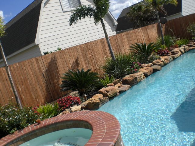 Landscaping ideas around pool landscaping around pool for Pool landscaping ideas