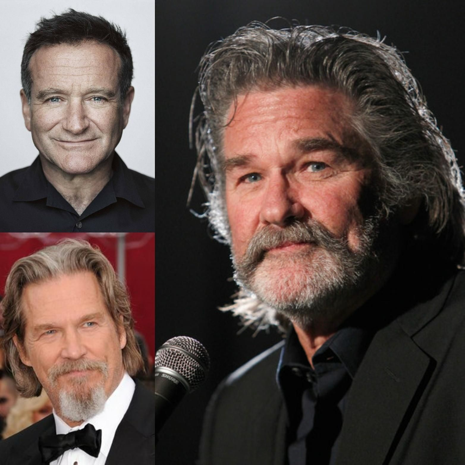 Kurt Russel Is The Love Child Of Robin Williams And Jeff Bridges  -> Sala De Tv Jeff