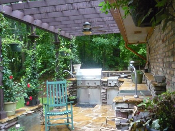 outdoor kitchen deck herb garden after lying in the gardens or soaking in the hot tub its on outdoor kitchen herb garden id=32049