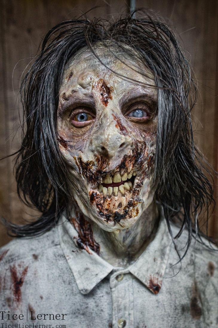 maquillage zombie cire