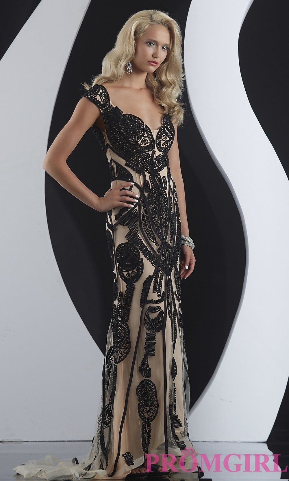 Long Prom Dress Style: JZ-4975 Detail Image 1